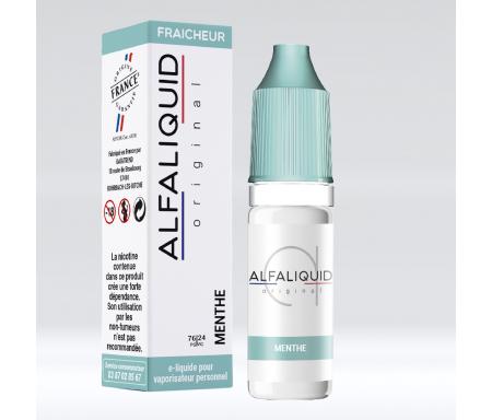 cigarette électronique menthe alfaliquid