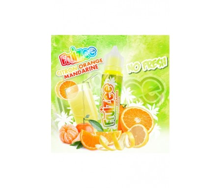 Citron Orange Mandarine No Fresh - Fruizee 50ML