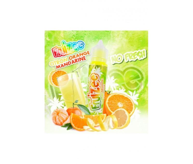 Citron Orange Mandarine No Fresh - Fruizee 50ML
