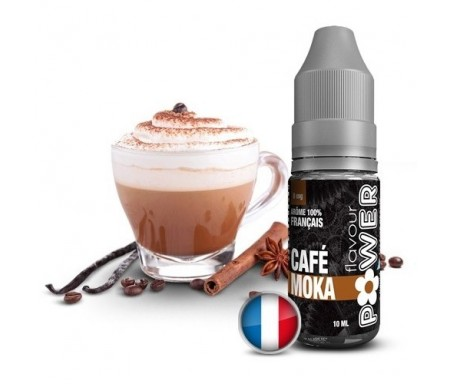 cigarette électronique recharge goût café moka liquide flavour power
