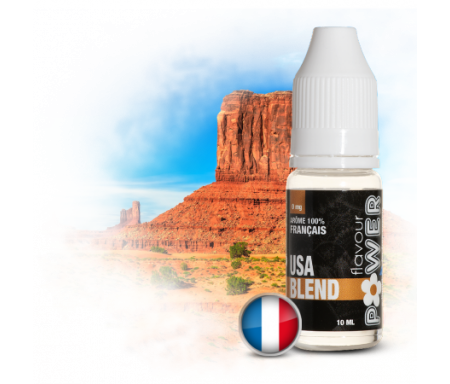 USA BLEND : juice saveur classique blond pour cigarette électronique