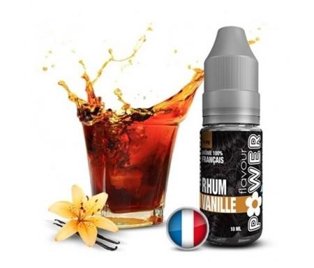 liquide pour cigarette électronique parfum rhum vanille