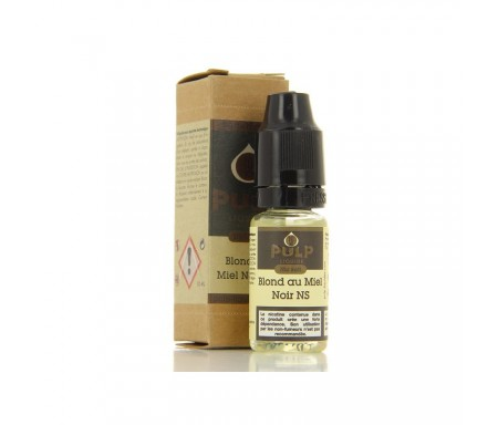 Blond au miel noir NicSalt 10 ml - Pulp Nic salt - Sels de nicotine