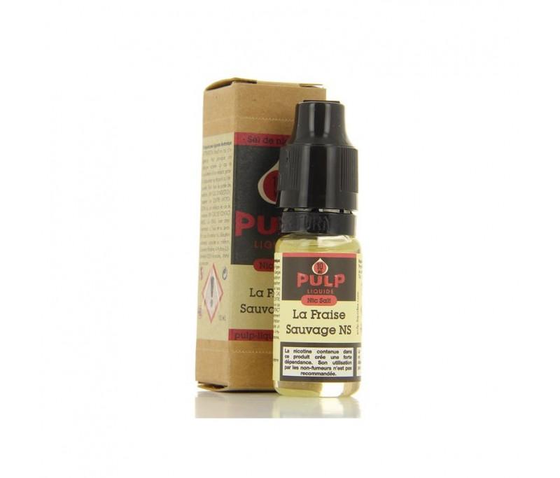 La Fraise sauvage NicSalt 10 ml - Pulp Nic salt - Sels de nicotine