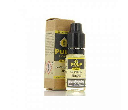 Le Citron Fizz NicSalt 10 ml - Pulp Nic salt - Sels de nicotine