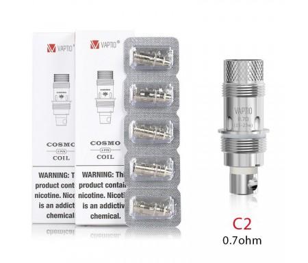 Résistances Cosmo / Tyro - Vaptio C2 0.7 Ohm