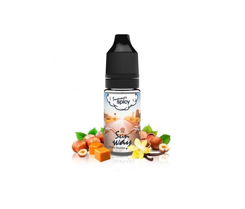 eliquide E.Tasty aux parfums vanille noisette caramélisée