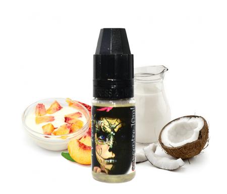Vapoteur vapoter DIY arôme pêche coco yaourt Ladybug e-liquide eliquide Vape Vapemewhite White Juice Ladybugjuice pas cher