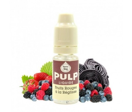 Fruits rouges réglisse 10ml pulp