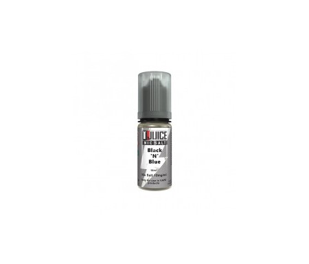 Black and blue sel de nicotine 10ml t-juice
