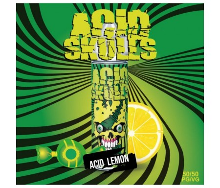 Acid Lemon 50ml Acid Skulls