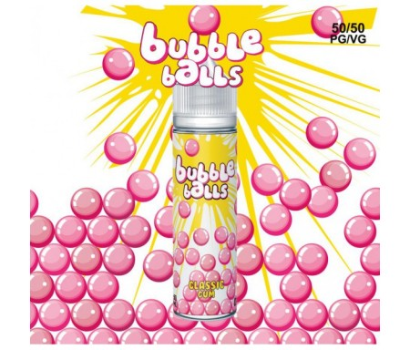 Classic gum 50ml bubble balls