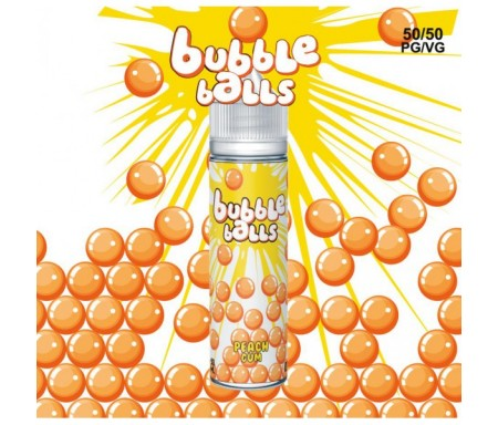 Peach Gum 50ml Bubble Balls